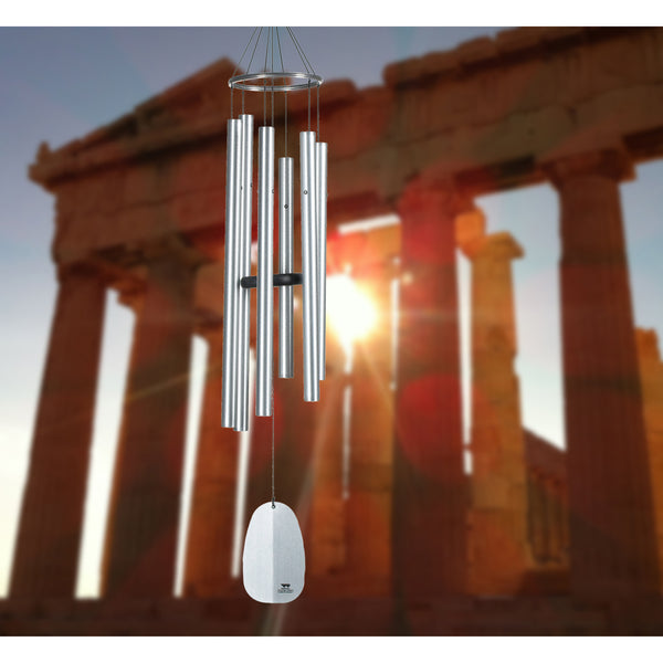Woodstock Windsinger Chimes Of Athena - Silver