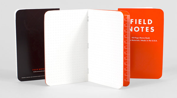 FIELD NOTES Expedition - Dot Graph - Set of 3 Memo Books