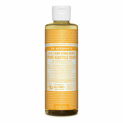Dr. Bronner's Pure-Castile Soap Liquid (Hemp 18-in-1) Citrus 237ml