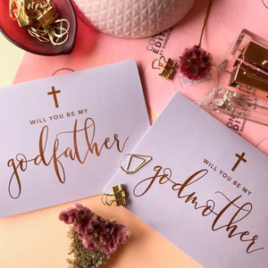 Godparent Proposal Card {customisable}