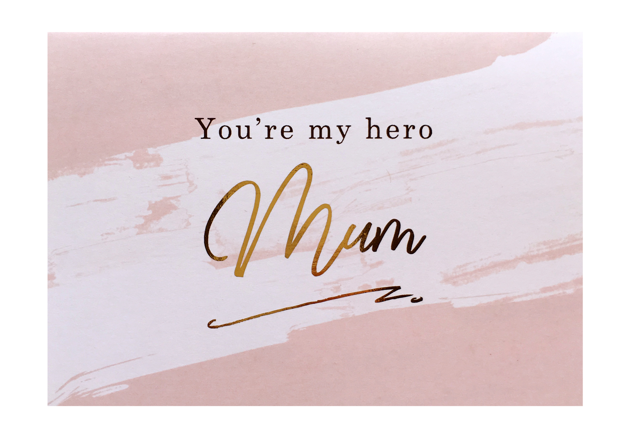 Hero Mum Greeting Card