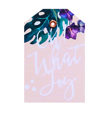 Oh What Joy Christmas Tag 5 PACK - Danger & Moon