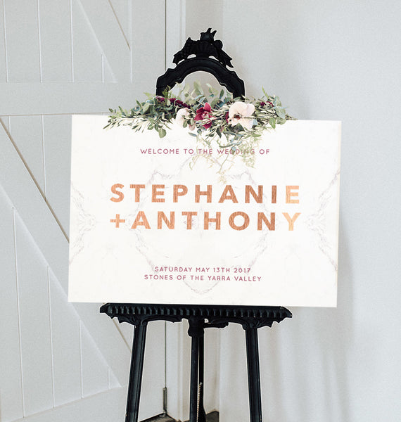 On The Dance Floor Seating Chart 60x90cm -ALPHABETICAL {customisable}