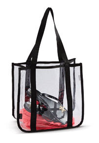 CLEAR STADIUM TOTE BAG