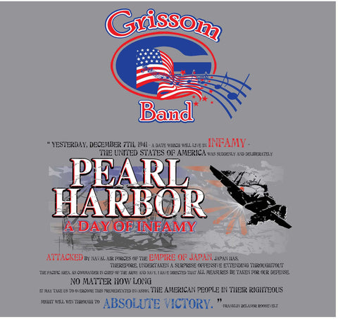 Band Show Shirt | 2016 (Pearl Harbor)
