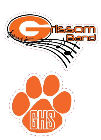 Car Magnets (GHS & Grissom Band Designs Available)