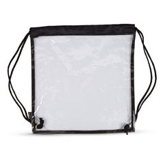 CLEAR STADIUM CINCH BAG