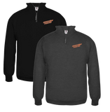 1/4-ZIP GRISSOM TIGERS PULLOVER (UNISEX)