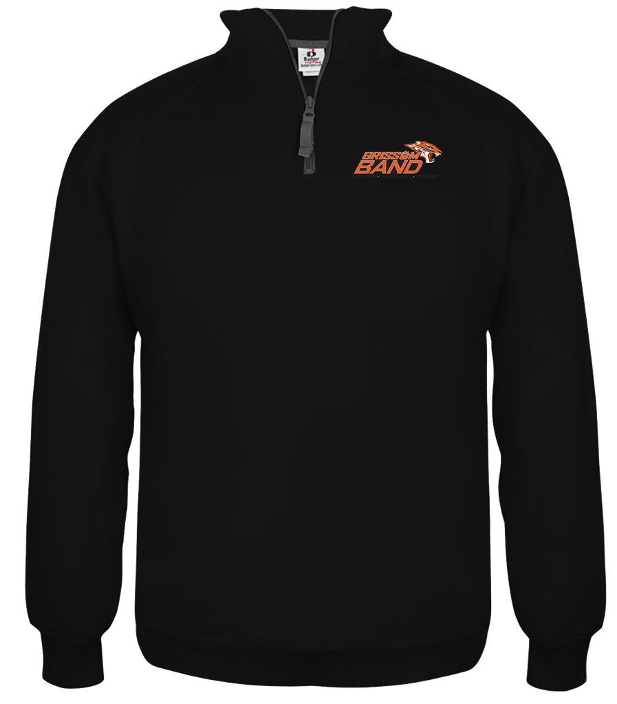 1/4-ZIP BAND PULLOVER (UNISEX)