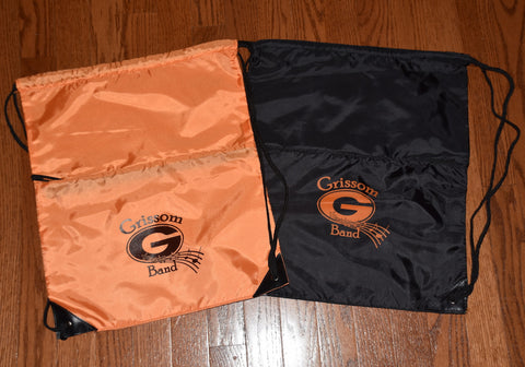 Grissom Band Drawstring Backpack