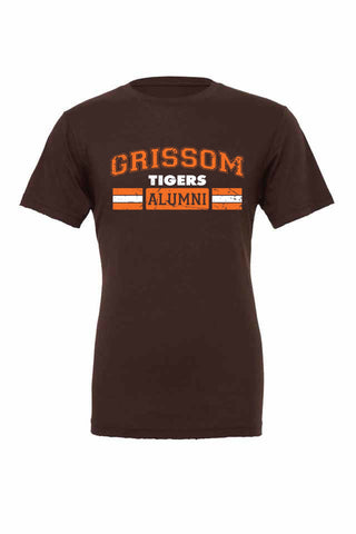 Grissom Tigers Distressed T (ALUMNI)