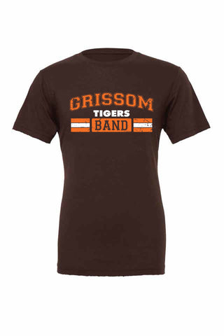 Grissom Tigers Distressed T (BAND)