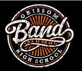 Grissom Band Alumni Pocket T-shirt (Distressed Black)