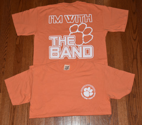 """I'm With The Band"" T-shirt in Mango"