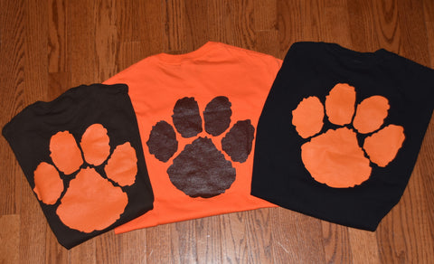 Grissom Band T-shirt with Simple Paw Design