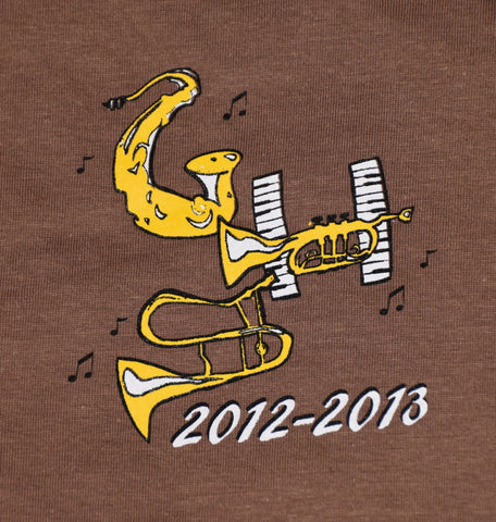 Band Show Shirt | 2012-2013 (All That Jazz)