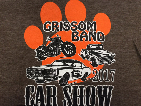 2nd Annual Grissom Car Show Shirt |  2017