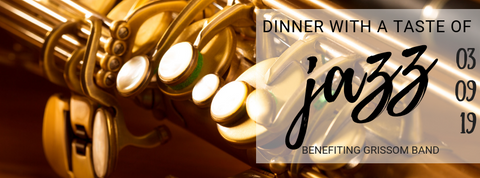 2019 Dinner with a Taste of Jazz (DINNER AND CONCERT)