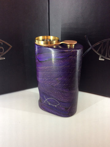 Squonk¹ V2.5 Woody - Purple Splated Beech, Brass Cup