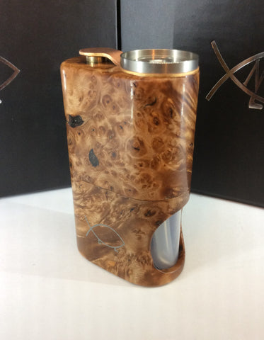 Squonk¹ V2.5 Woody - Natural Maple Burr, SS Cup