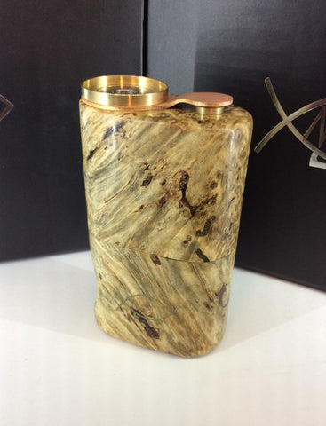 Squonk¹ V2.5 Woody - Natural Conker Burr, Brass Cup