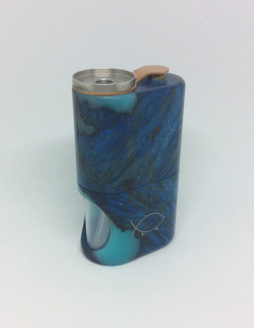 Squonk¹ V2.5 Woody - Blue Hybrid Horse Chestnut Burr, SS Cup