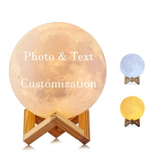 Customized Lunar Lamps