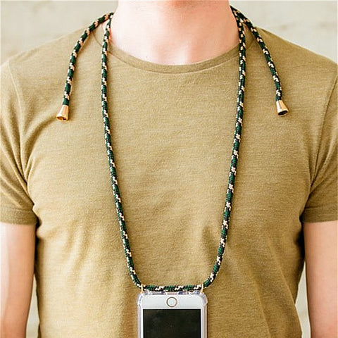 Shoulder Neck Strap Rope Phone Case