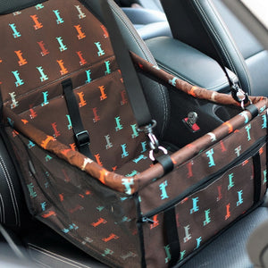 Dog Safety Travel Seat Basket