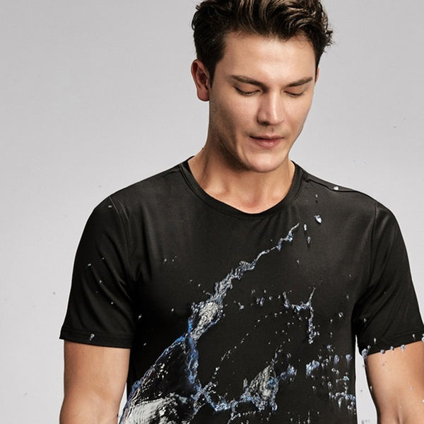 Creative Hydrophobic Stainproof Quick Dry T-shirt