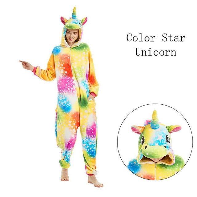 Color Star Onesies Sleepwear Pajamas