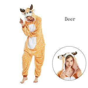 New Deer Onesies Sleepwear Pajamas
