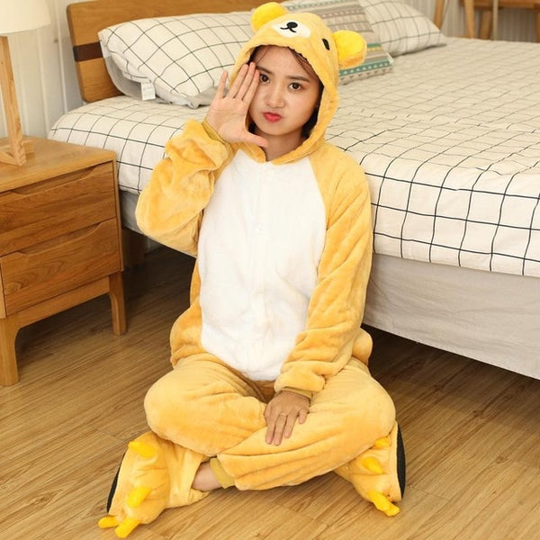 Easily Bear Onesies Sleepwear Pajamas