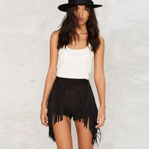 Dancing Fringe Shorts