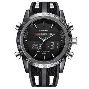 Digital Quartz Men Military Wrist Watch