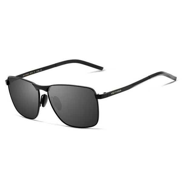 Men's Vintage Square Sunglasses