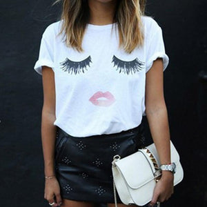 Flirty Eyelashes T-Shirt