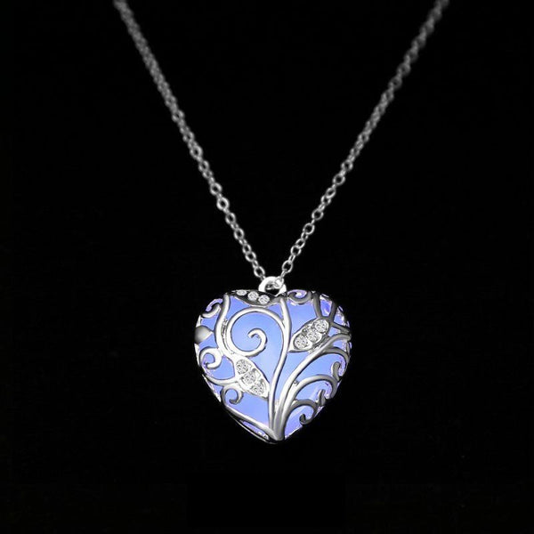 'Heart Of Forest' Glow Necklace
