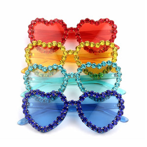 Love Heart Shape Sunglasses