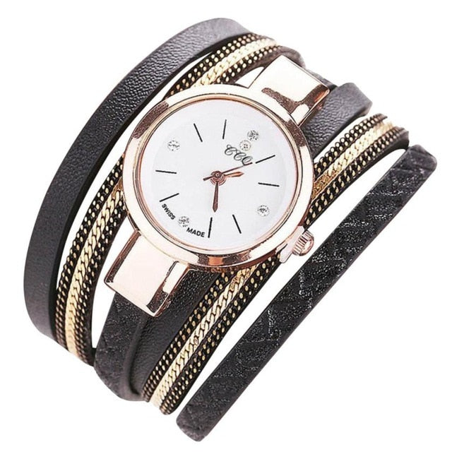 Fashion Casual Analog Quartz Watch Bracelet