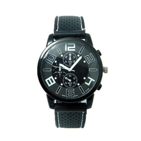 Alloy Analogue Soft Style Sports Watch
