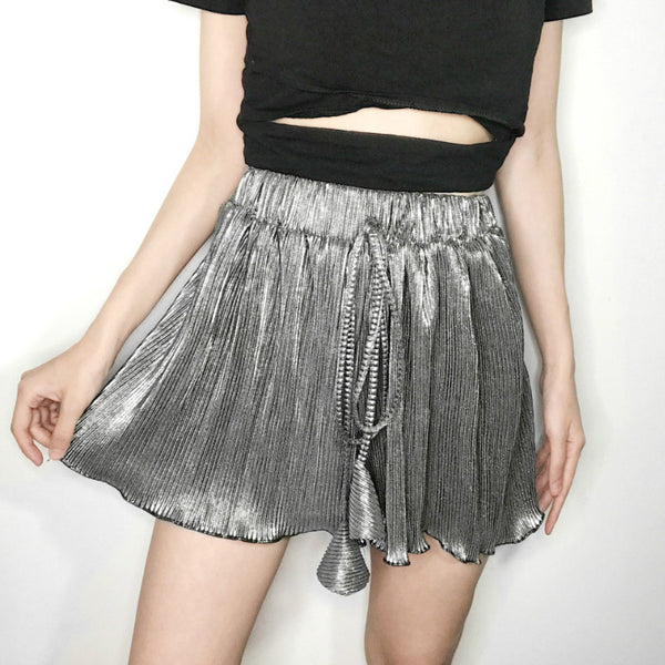 Summer Pleated Shorts