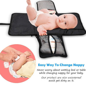 3 in 1 Waterproof Diaper Changing Bag