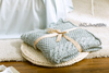 Mermaid Blanket (Light Grey)