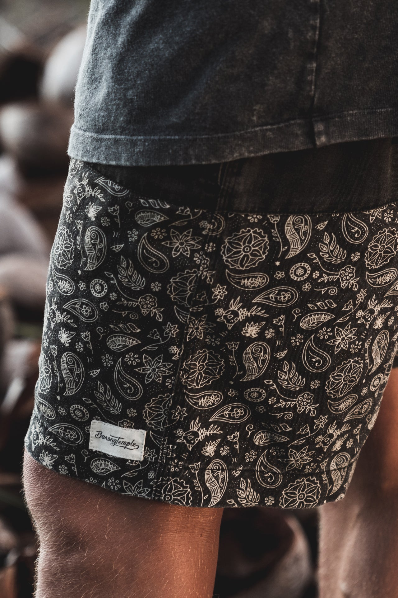 Bambu Shorts - Charcoal Grey