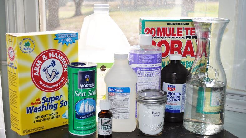 Natural Cleaning Products In Your Home