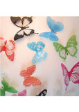 3D Butterfly Wall Stickers (12 pcs)