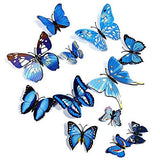 [Sale] 3D Butterfly Wall Stickers (12 pcs)