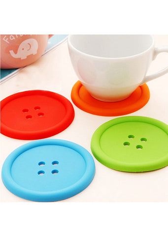 [Sale] Button Coasters Buy 3 Get 1 Free!