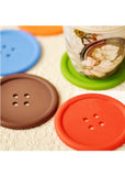 Button Coasters (4pcs)